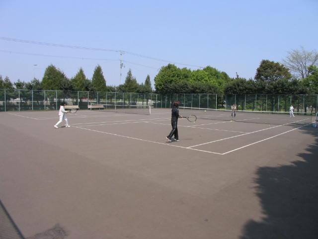 清田公園(近隣公園)野球場 テニスコート2面 歩くスキーコース]の画像3